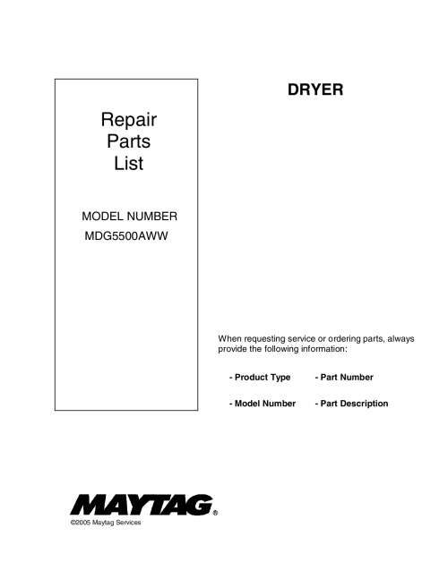 small resolution of pdf for maytag dryer mdg5500aww manual