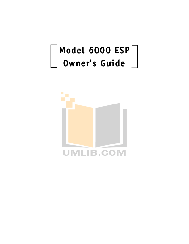Download free pdf for DEI Sidewinder 6000 Transmitter