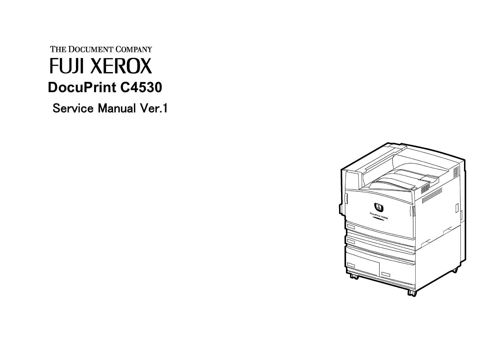 Download free pdf for Xerox DocuPrint 135 Printer manual