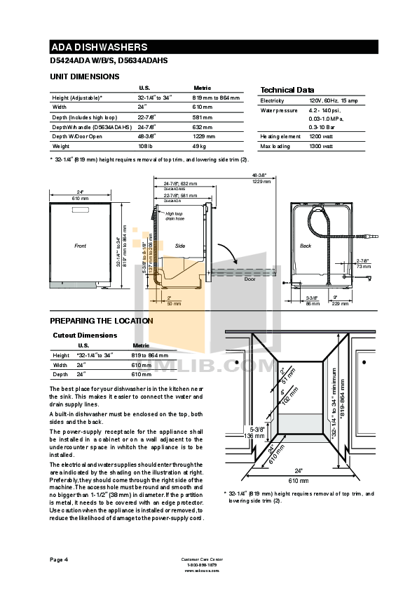PDF manual for Asko Dishwasher D5654XXLHS