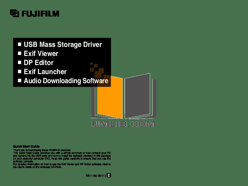 Download free pdf for FujiFilm Finepix 40i Digital Camera