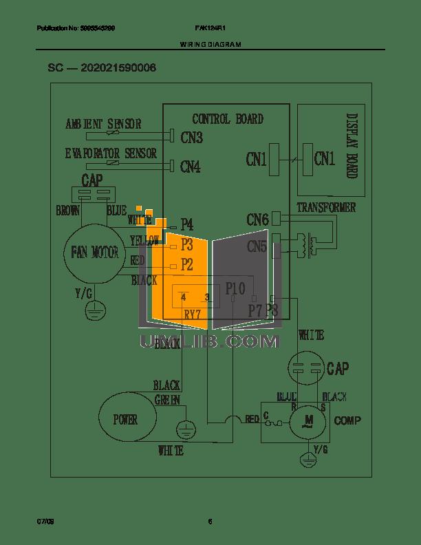 PDF manual for Frigidaire Air Conditioner FAK124R1V