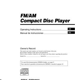 download free pdf for sony cdx gt32w car receiver manual sony car stereo wiring diagram pdf [ 876 x 1240 Pixel ]