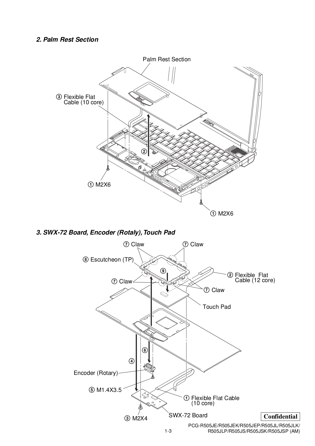 PDF manual for Sony Laptop VAIO PCG-R505JE