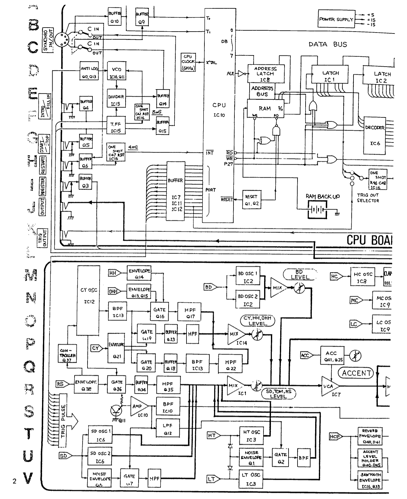 PDF manual for Roland Amp D-BASS 210
