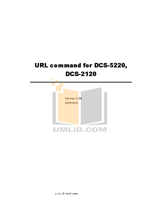 Download free pdf for D-link DCS-2120 Security Camera manual