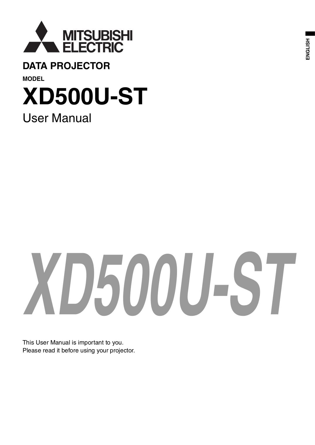 Download free pdf for Mitsubishi X250 Projector manual