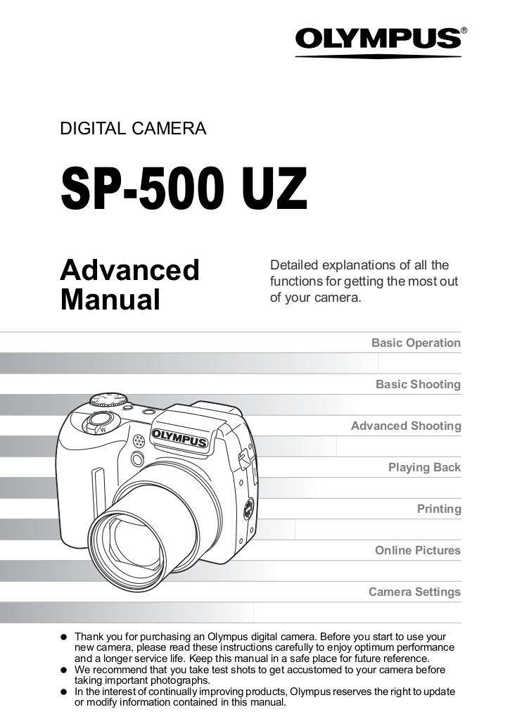 Download free pdf for Olympus Trip 500 Digital Camera manual