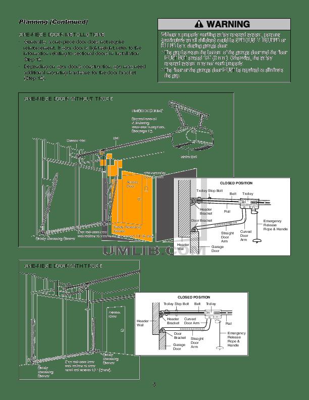 PDF manual for Chamberlain Other Whisper Drive WD822KLS