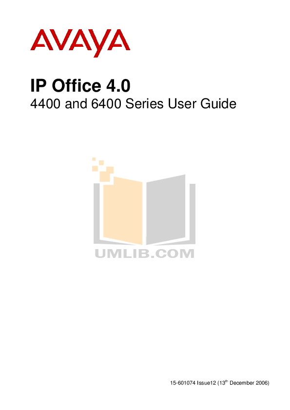Download free pdf for Avaya 2402 Telephone manual