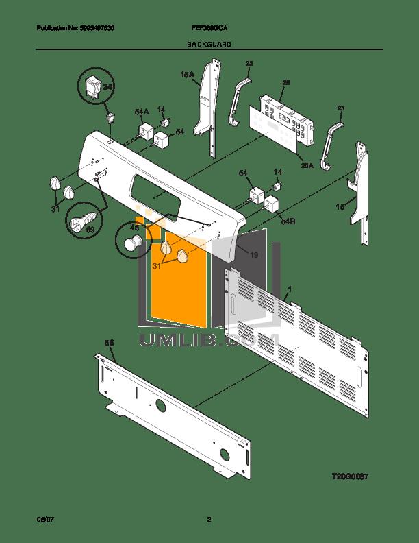 PDF manual for Frigidaire Range FEF368GC