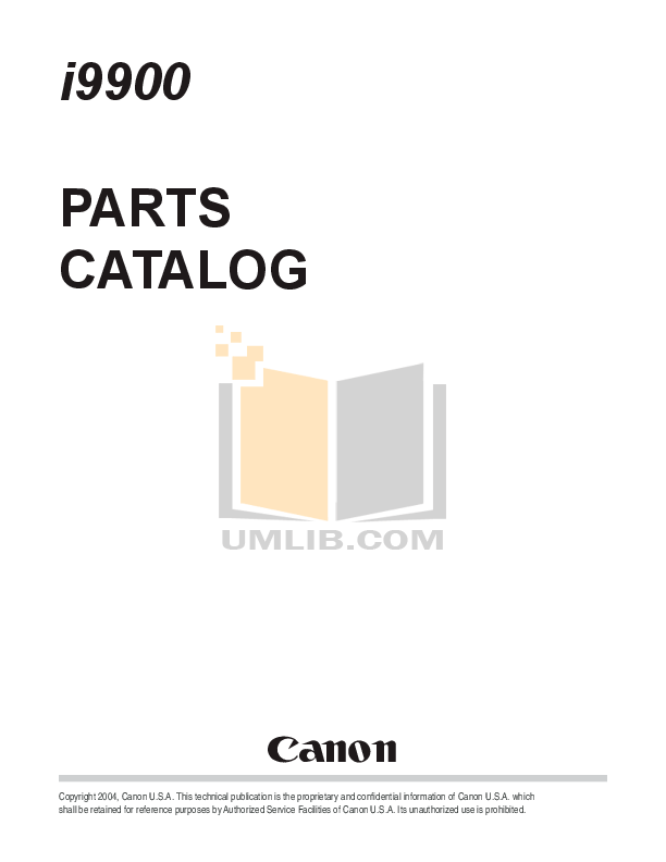 Download free pdf for Canon i9950 Printer manual