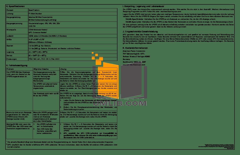 PDF manual for HP Laptop Pavilion DV1227