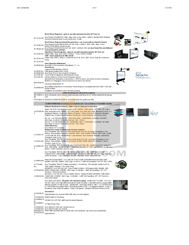 PDF manual for Acer Desktop Veriton N282G