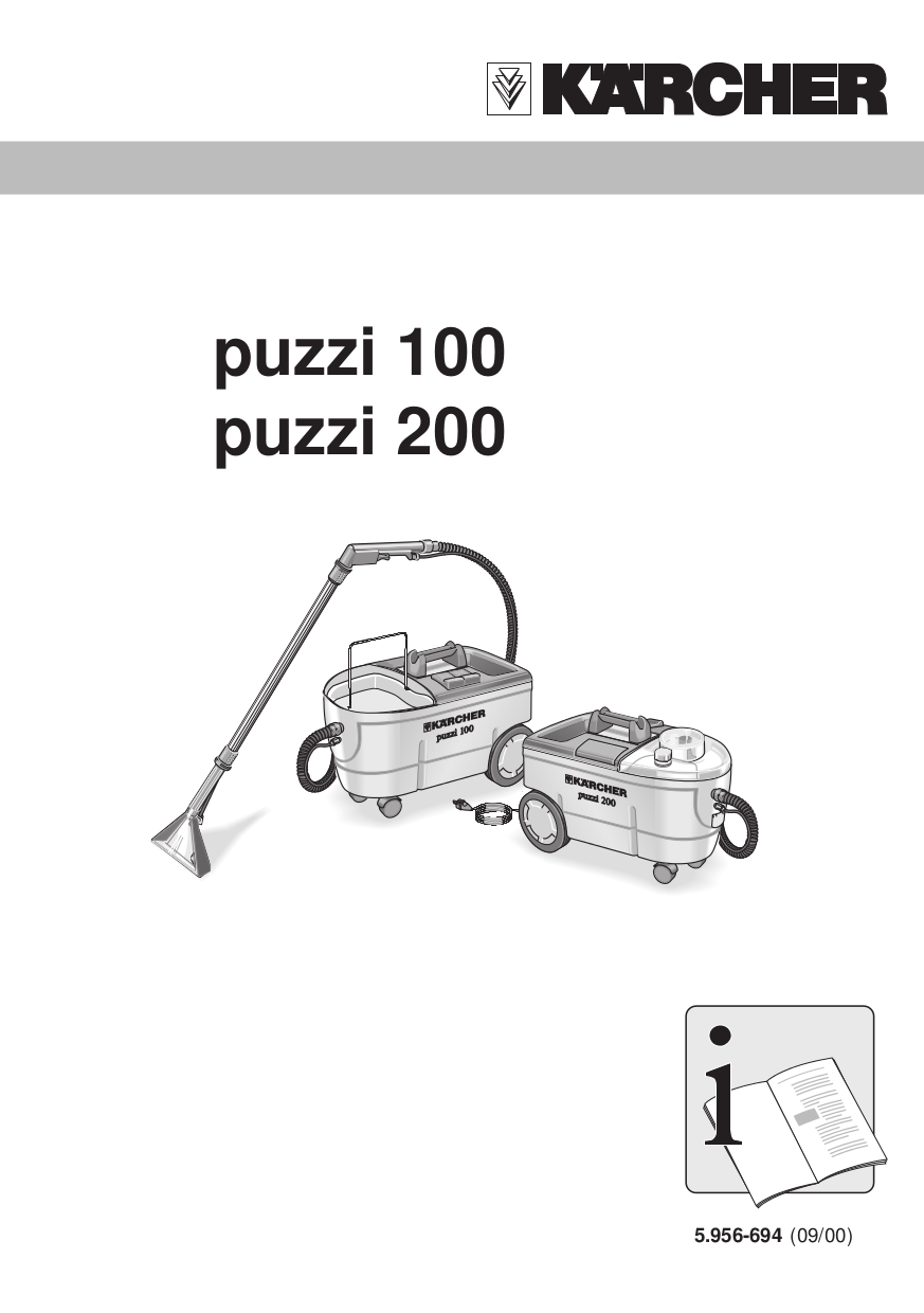 Download free pdf for Karcher T 100 Surface Cleaners Other