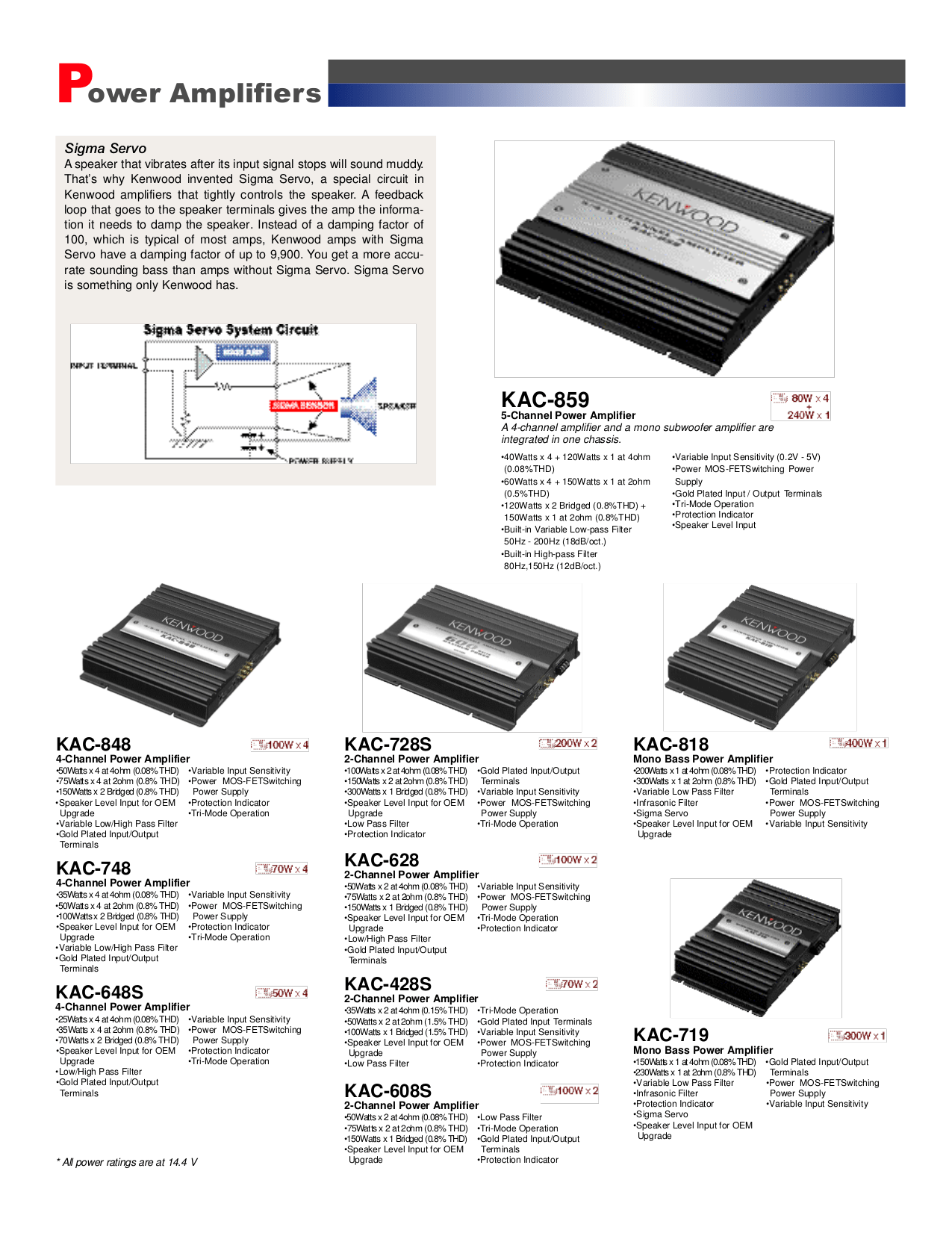 PDF manual for Kenwood Speaker System KSC-9903