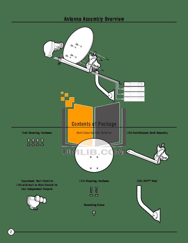 PDF manual for DirecTV Other Multi-Satellite Satellite
