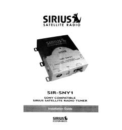 pdf for sony car receiver cdx gt500 manual [ 1273 x 1648 Pixel ]