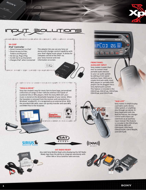 small resolution of pdf manual for sony car receiver cdx gt500