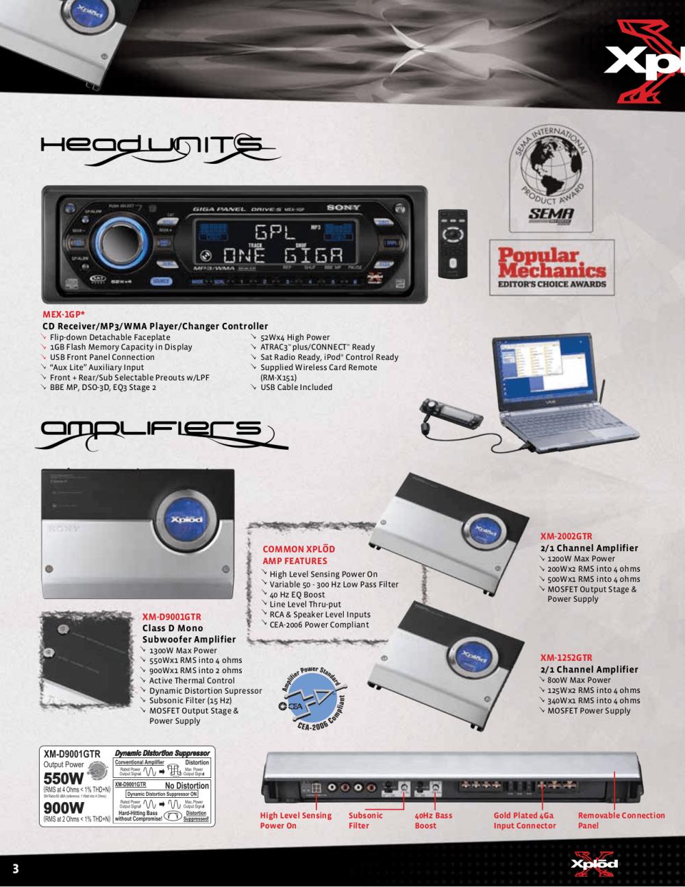 medium resolution of pdf manual for sony car receiver cdx gt500