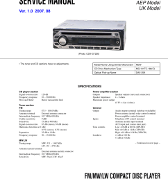 manual sony cdx gt121 gt220 gt222 pdf 0 download free pdf for sony cdx gt220 car [ 1240 x 1755 Pixel ]