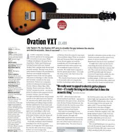 pdf for ovation guitar vxt standard manual [ 1241 x 1755 Pixel ]