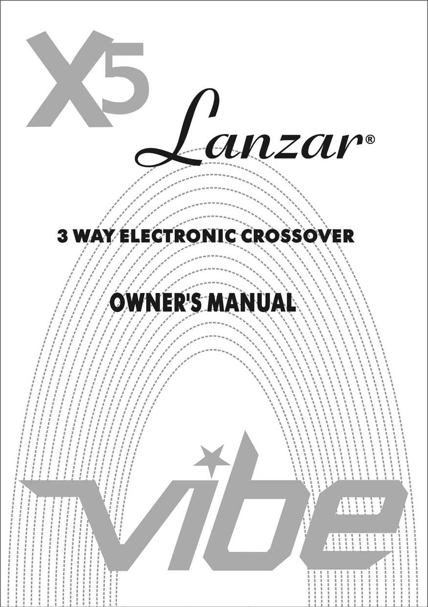 Download free pdf for Lanzar VIBEX5 Car Amplifier manual
