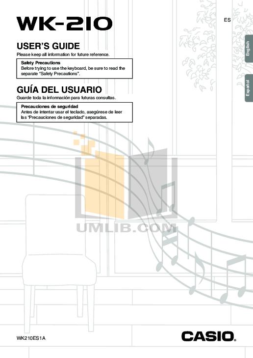 Download free pdf for Casio SA-67 Music Keyboard manual