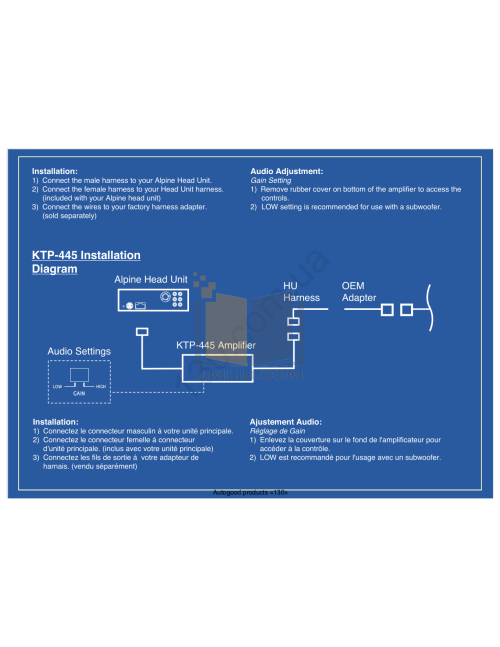 small resolution of  alpine car amplifier ktp 445 pdf page preview