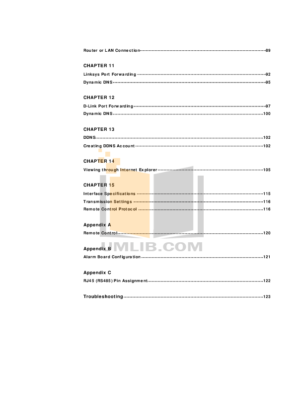 PDF manual for EverFocus DVR EDR410H