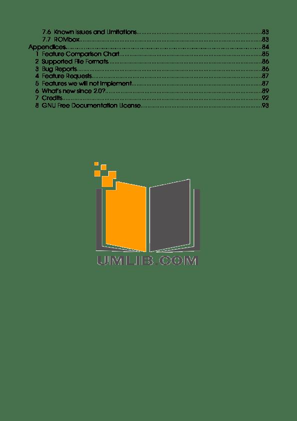 PDF manual for Archos MP3 Player Gmini 200