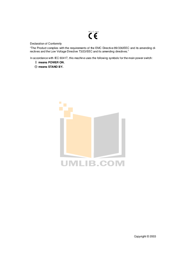 PDF manual for Gestetner Copier DSm645