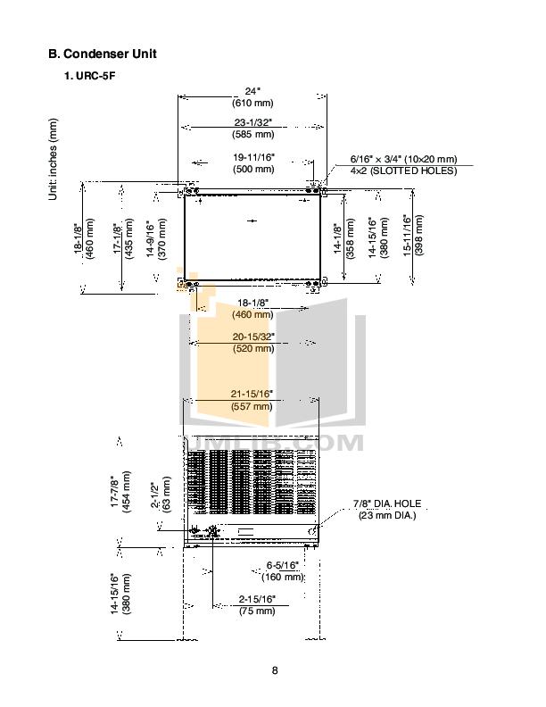PDF manual for Hoshizaki Other KM-515MAH Cuber Machines