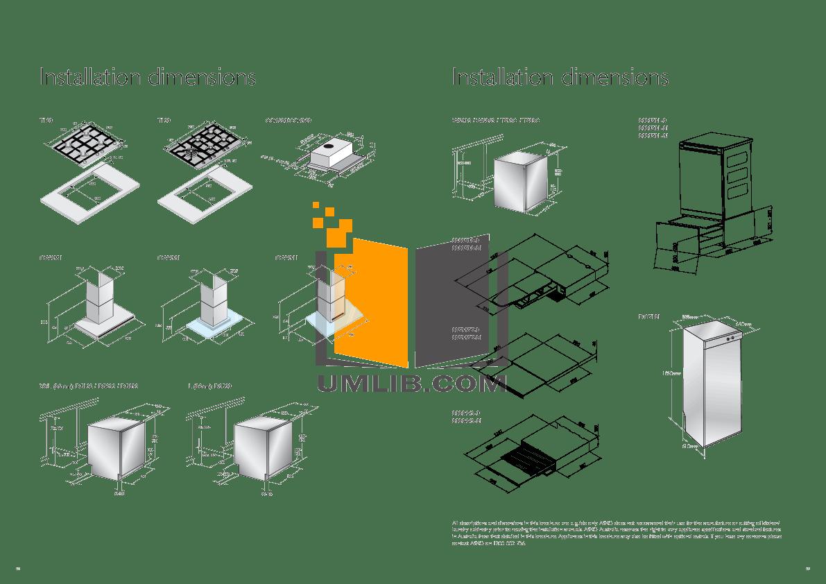 PDF manual for Asko Washer W6903FI