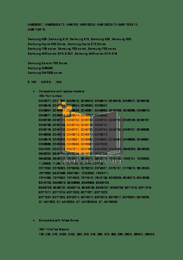 PDF manual for HP Laptop Compaq Presario,Presario X1090