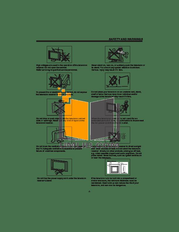 PDF manual for Haier TV L32D1120