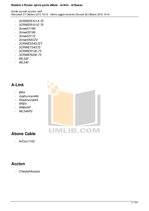 PDF manual for Airlink Wireless Router AR410W
