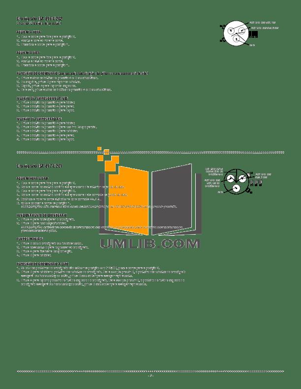 PDF manual for Diesel Watch DZ7069