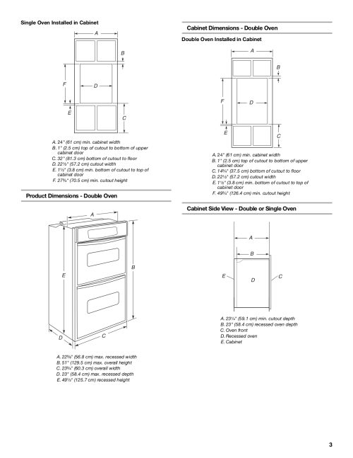 small resolution of wall oven reviews kitchenaid oven architect series ii kebc247vss pdf page preview