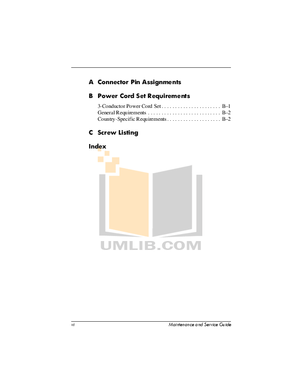 PDF manual for HP Laptop Compaq Presario,Presario X1028
