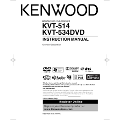Kenwood Dnx5120 Wiring Diagram 2005 Ford F150 Factory Radio Kvt 516 Usb Cable