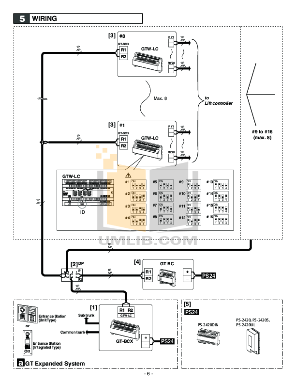 PDF manual for Aiphone Other LC-5S Intercoms