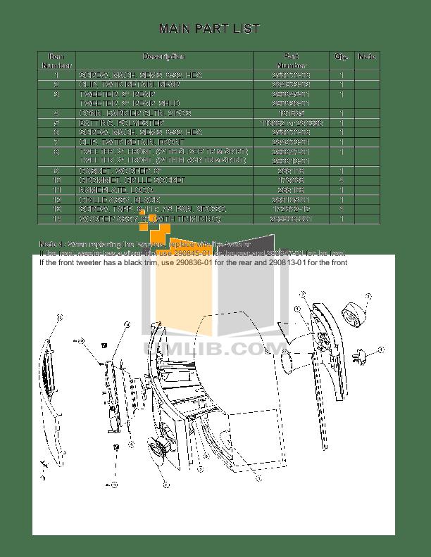 PDF manual for Bose Speaker 701 Series II