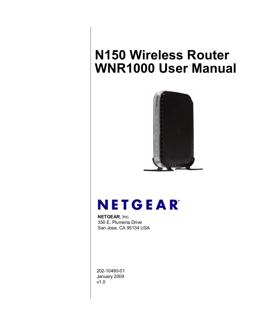 Download free pdf for Netgear RangeMax WNR1000 Wireless