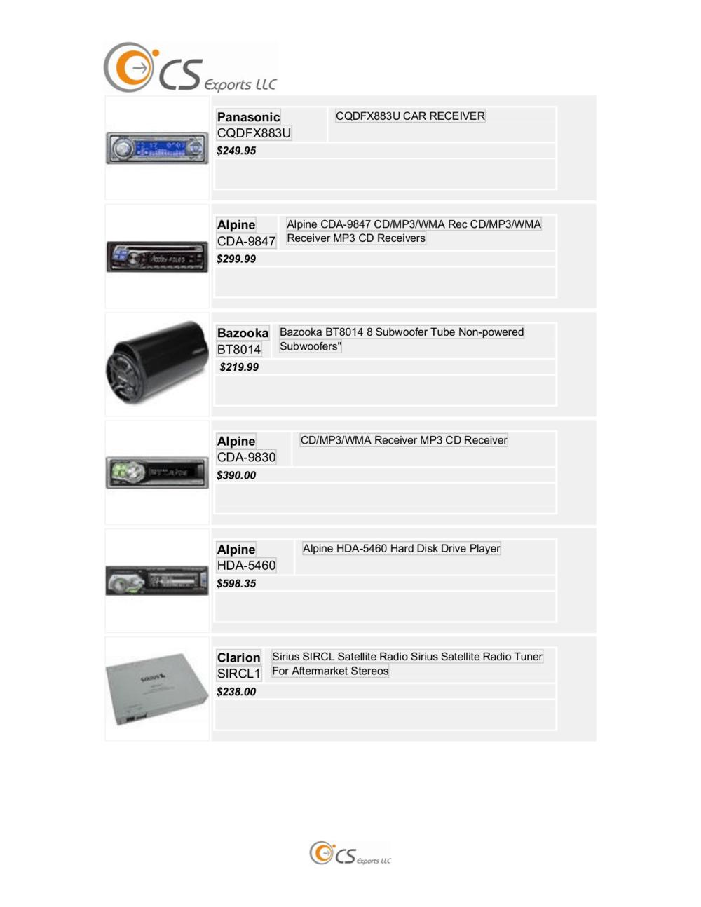 medium resolution of pdf for panasonic car receiver cq c8100u manual