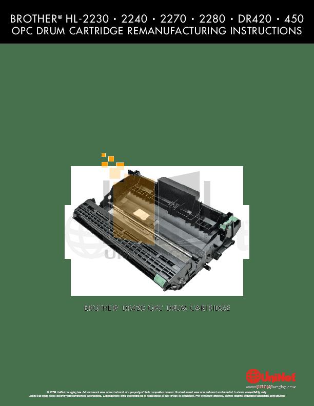 Download free pdf for Brother HL-2240 Printer manual