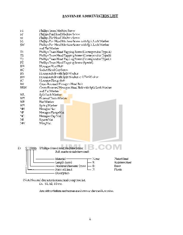PDF manual for Hoshizaki Other KM-250BAE Cuber Machines