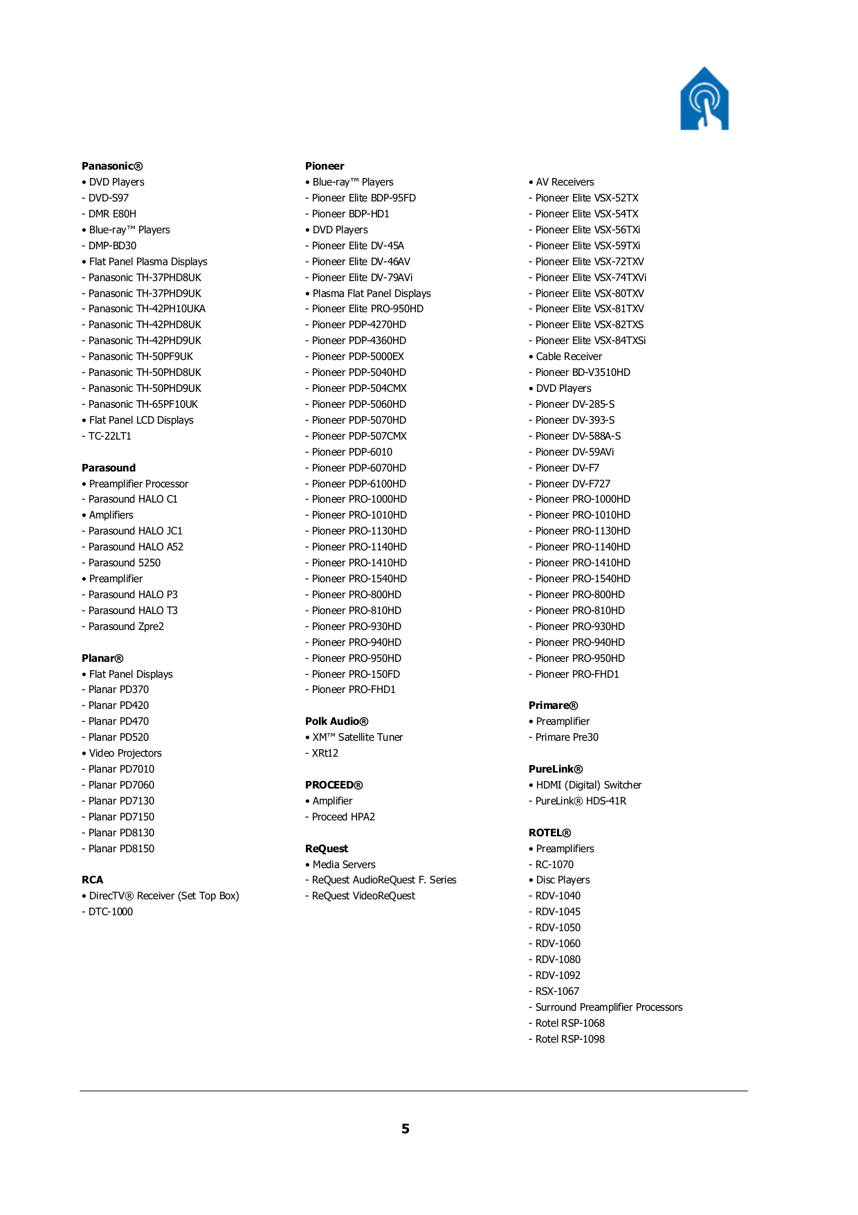 PDF manual for Sony TV BRAVIA KDL-40XBR5