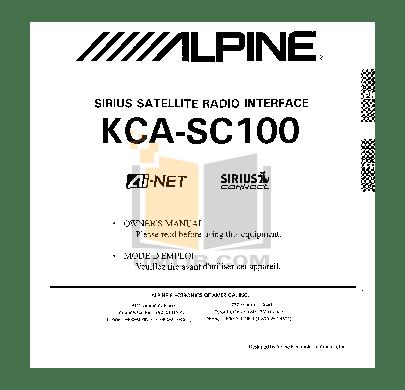 Download free pdf for Alpine CDA-7878 Car Receiver manual