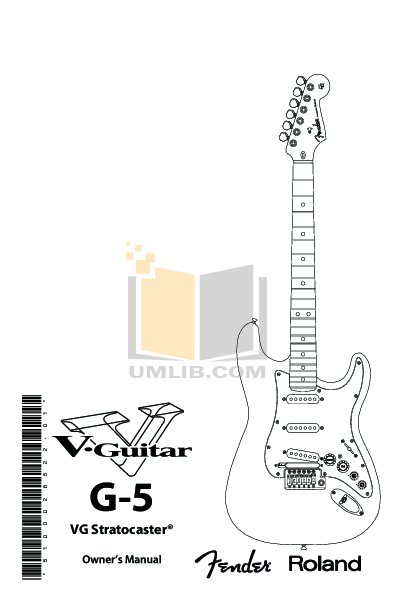 Download free pdf for Fender Stratocaster Guitar manual